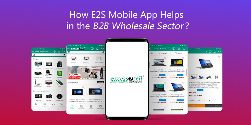 Excess2sell Mobile Application