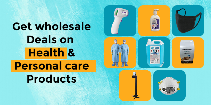 Get wholesale deals on health and personal products